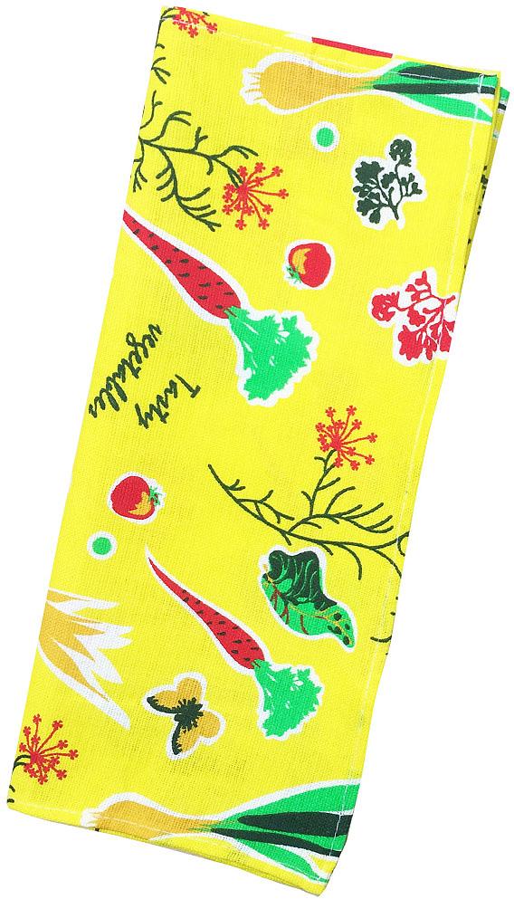 Полотенце кухонное Bonita Овощи, 35 х 62 см полотенце кухонное bonita белые росы цвет белый бежевый 35 х 61 см