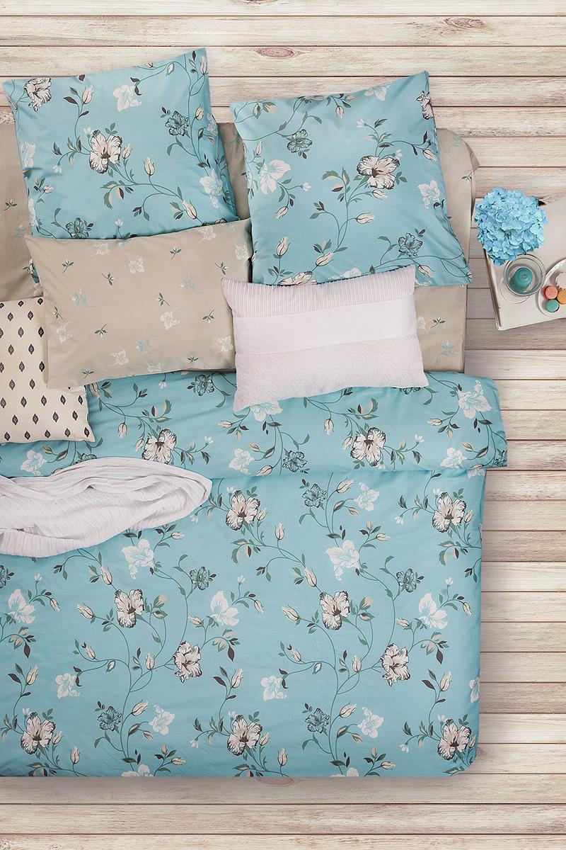 Комплект белья Sova & Javoronok Карисса, 1,5-спальный, наволочки 50x70. 2203081729122030817291Комплект белья Sova & Javoronokизготовлен из натуральных и качественных материалов, поможет вам расслабиться и подарит спокойный сон.Постельное белье имеет и привлекательный внешний вид, отлично стирается, гладится, быстро сохнет.Комплект состоит из пододеяльника, простыни и двух наволочек.Благодаря такому комплекту постельного белья, вы сможете создать атмосферу уюта и комфорта в вашей спальне.Плотность: 120 г.