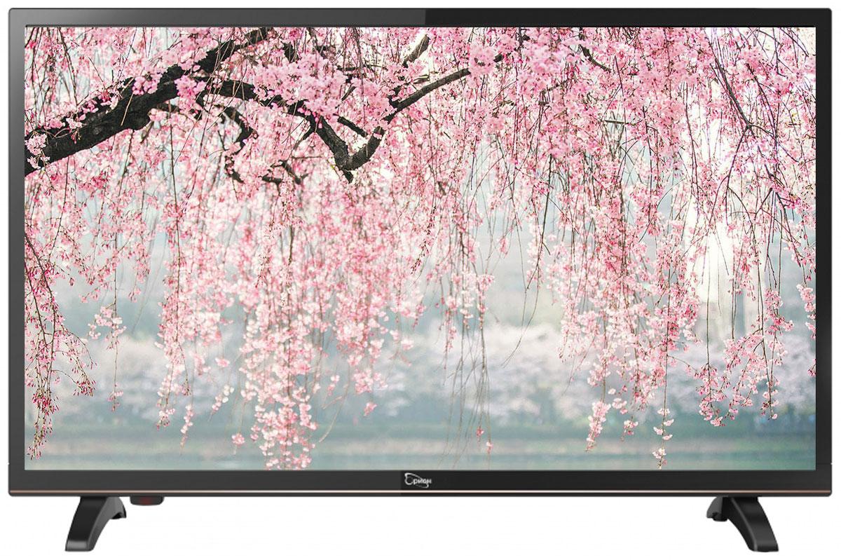 Orion ПТ-55ЖК-100ЦТ, Black телевизор11707Orion ПТ-55ЖК-100ЦТ - это многофункциональный телевизор, обладающий отличным качеством изображения. LED-подсветка обеспечивает четкость и яркость изображения, а экран обладает разрешением 1920x1080 пикселей, яркостью 240 кд/м2, динамической контрастностью 60000:1 и широким углом обзора (170°).Телевизор имеет функцию телетекста, таймер сна и защиту от детей. Мощность звучания аудиосистемы составляет 6 Вт, также поддерживаются телевизионные стандарты DVB-T2/C. Телевизор оборудован USB-портом и HDMI-входом.