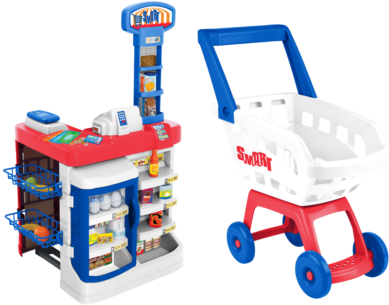 HTI Игровой набор Супермаркет hti игровой набор полицейский в кейсе