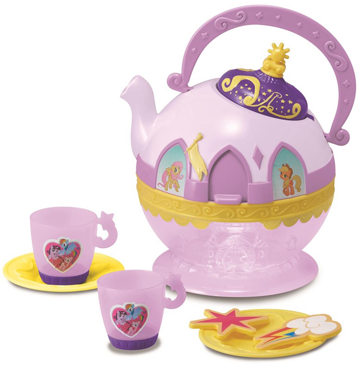 HTI Игровой набор Волшебный чайничек и набор посудки MLP hti игровой набор полицейский в кейсе