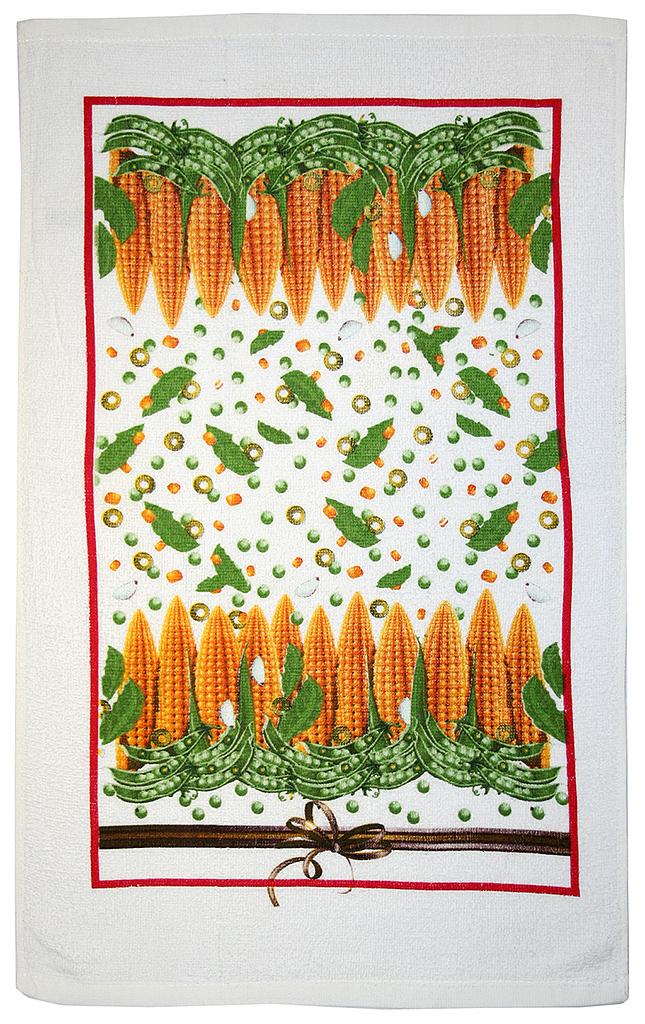 Полотенце кухонное Bonita Попкорн, 63 х 38 см01010213145Полотенце выполнено из 100% хлопка. Размер полотенца: 38 см х 63 см. С оригинальными принтами на полотенцах вкусные домашние заготовки из свежих овощей и грибов всегда будутна вашей кухне.