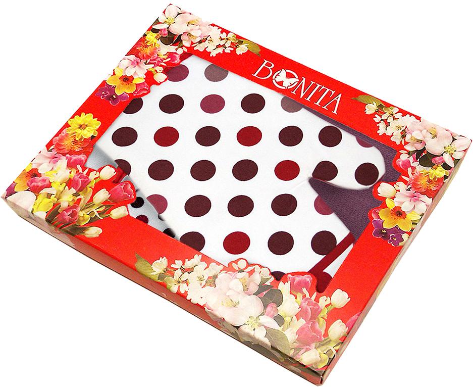 Подарочный набор для кухни Bonita Конфетти, 3 предмета01010215437Текстильные товары пользовались большой популярностью во все времена. Это беспроигрышный подарок, ведь все любят мягкие и приятные наощупь ткани. Подарочный набор Bonita Конфетти — неповторимое сочетание необычного дизайна и высокого качества. Размер полотенец: 38 х 62 см. Размер рукавицы: 18 х 27 см.