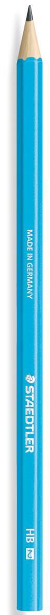 Staedtler Карандаш чернографитный Wopex твердость HB180HB-F30Чернографитовый карандаш Wopex в ярком корпусе голубого неонового цвета. Изготовлен из уникального природного материала Wopex (70% древесины+ 30% пластиковый композит). Однородный материал WOPEX обеспечивает исключительно гладкую и ровную заточку. При производстве используется PEFC-сертифицированная древесина из постоянно возобновляемых лесов. Степень твердости - HB (твердо-мягкий). Диаметр грифеля - 2 мм. Нескользящая, ударопрочная, бархатистая поверхность; эргономичная шестигранная форма корпуса; гладкое письмо; длина письма в два раза больше, чем у обычного карандаша в деревянном корпусе.