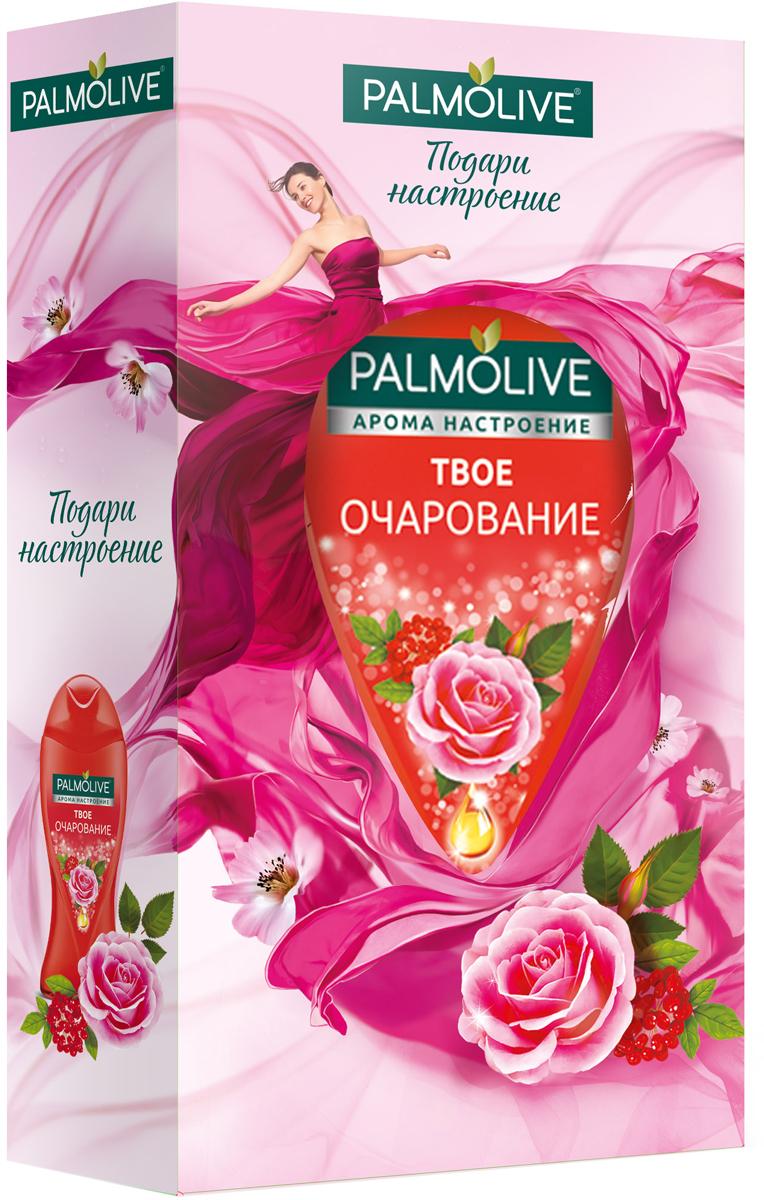 Подарочный набор Palmolive Арома Настроение Твое Очарование в косметичке04135396116Гель для душа Твое Очарование 250мл - 1шт, мочалка - 1шт, косметичка