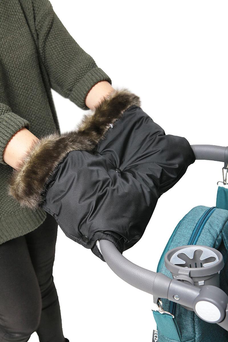 Топотушки Муфта для рук на коляску Престиж цвет черный