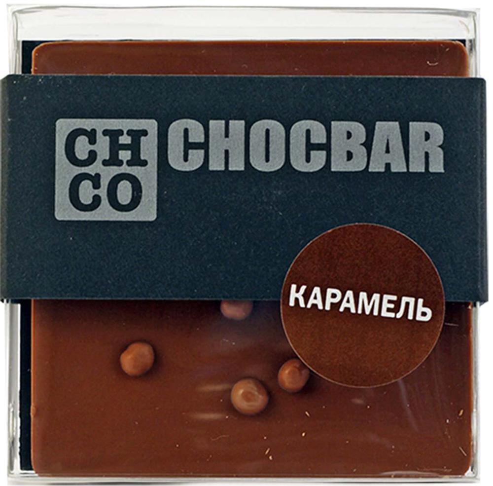 Chco Chocbar Milk Карамель молочный шоколад, 60 г4627073370302Chco Chocbar Dark Карамель станет настоящей находкой для любителей классического вкуса молочного шоколада и карамели. Попробовав этот шоколад, Вы не сможете отказать себе в удовольствии полакомиться им еще и еще.