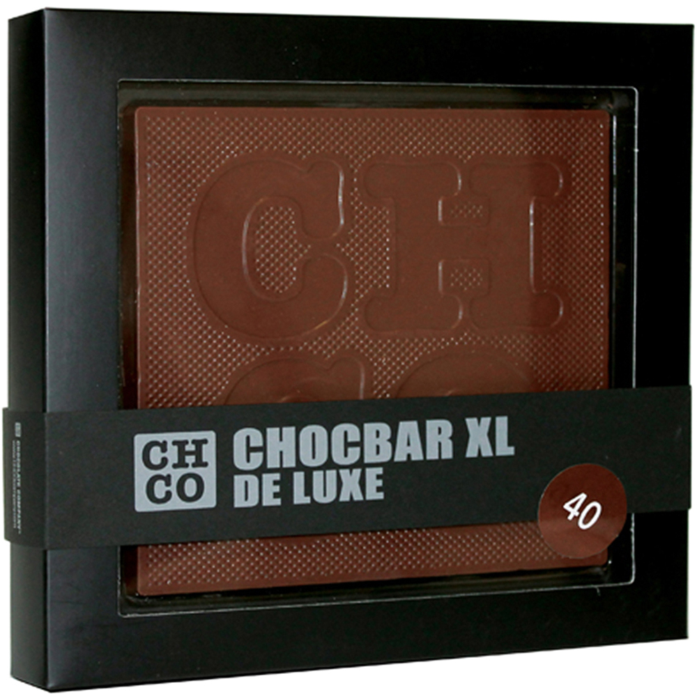 Chco Chocbar XL De Luxe Milk 40% молочный шоколад, 300 г с пудовъ кисель молочный ванильный 40 г