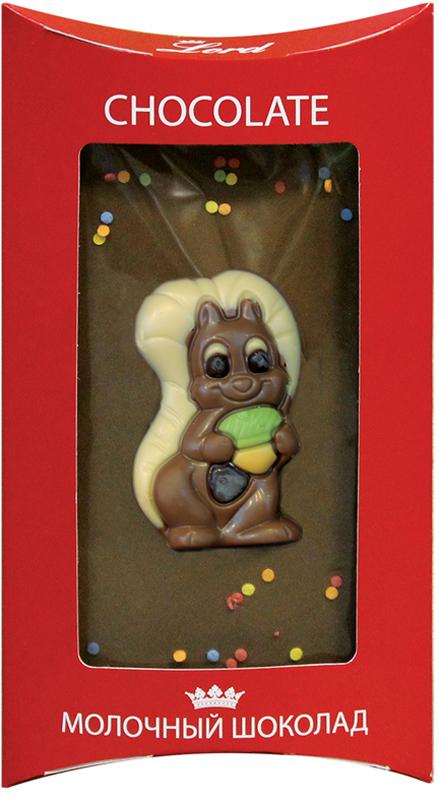 Lord Белка молочный шоколад детский, 115 г