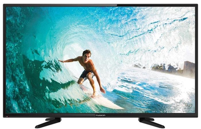 Fusion FLTV-40B100T, Black телевизор11885Fusion FLTV-40B100T - это многофункциональный телевизор, обладающий отличным качеством изображения. LED-подсветка обеспечивает четкость и яркость изображения, а экран обладает разрешением 1920x1080 пикселей, яркостью 280 кд/м2, динамической контрастностью 100000:1 и широким углом обзора (178°).Телевизор имеет функцию телетекста, таймер сна и защиту от детей. Мощность звучания аудиосистемы составляет 12 Вт, также поддерживаются телевизионные стандарты DVB-T2/C. Телевизор оборудован USB-портом и HDMI-входами.