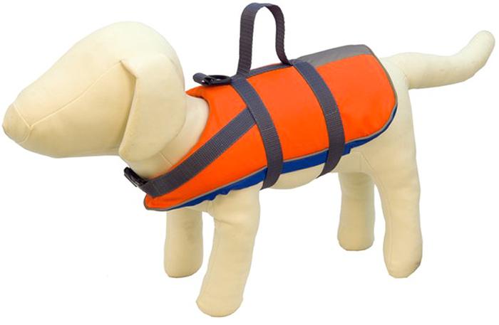 Жилет спасательный для собак Каскад, вес до 40 кг. Размер XXL52077536Спасательный жилет для собак Каскад является лучшим средством безопасности во время плавания. Спасательный жилет предназначен для собак весом до 40 кг. Жилет имеет удобные крепкие и оптимально расположенные пластиковые застежки и ручку для подъема собаки из воды. Специальный материал имеющий максимальные отражающие свойства для лучшей видимости собаки в воде.