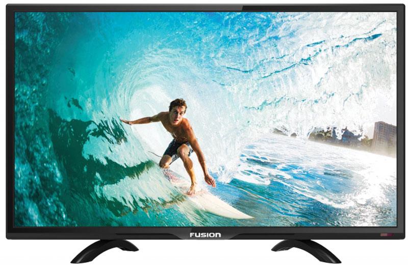 Fusion FLTV-24H100T, Black телевизор11455Fusion FLTV-24H100T - это многофункциональный телевизор, обладающий отличным качеством изображения. LED-подсветка обеспечивает четкость и яркость изображения, а экран обладает разрешением 1920x1080 пикселей, яркостью 250 кд/м2, динамической контрастностью 80000:1 и широким углом обзора (176°).Телевизор имеет функцию телетекста, таймер сна и защиту от детей. Мощность звучания аудиосистемы составляет 6 Вт, также поддерживаются телевизионные стандарты DVB-T2/C. Телевизор оборудован USB-портом и HDMI-входом.