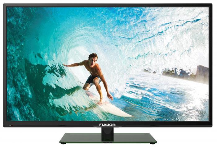 Fusion FLTV-24H100, Black телевизор fusion fltv 32h100 black телевизор