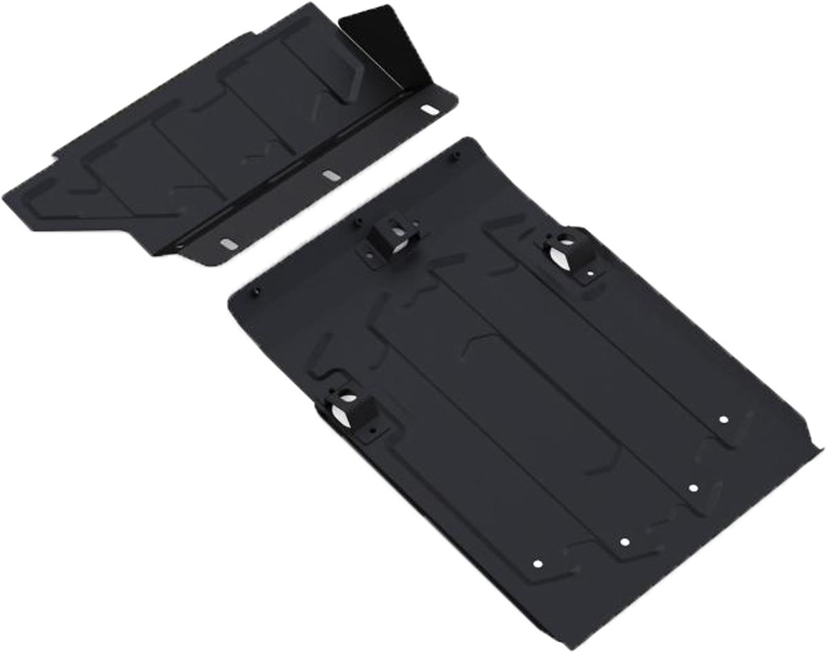 Защита картера Автоброня Lada 4х4 2001-, сталь 2 мм1.06006.1Защита картера Автоброня Lada 4х4 2001-, сталь 2 мм, штатный крепеж, 1.06006.1Стальные защиты Автоброня надежно защищают ваш автомобиль от повреждений при наезде на бордюры, выступающие канализационные люки, кромки поврежденного асфальта или при ремонте дорог, не говоря уже о загородных дорогах. - Имеют оптимальное соотношение цена-качество. - Спроектированы с учетом особенностей автомобиля, что делает установку удобной. - Защита устанавливается в штатные места кузова автомобиля. - Является надежной защитой для важных элементов на протяжении долгих лет. - Глубокий штамп дополнительно усиливает конструкцию защиты. - Подштамповка в местах крепления защищает крепеж от срезания. - Технологические отверстия там, где они необходимы для смены масла и слива воды, оборудованные заглушками, закрепленными на защите. Толщина стали 2 мм. В комплекте инструкция по установке. При установке используется штатный крепеж автомобиля.