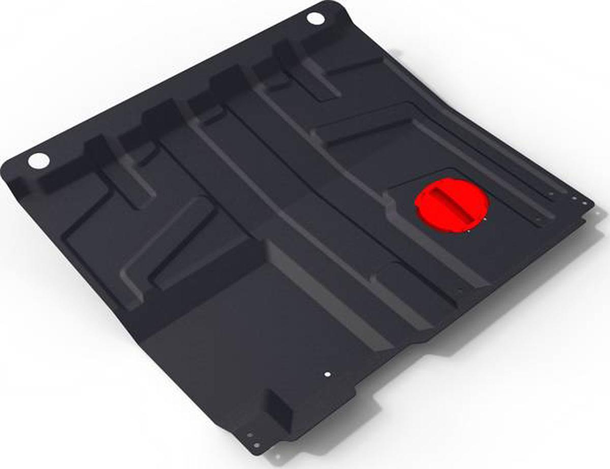 Защита картера и КПП Автоброня Datsun Mi-Do 2015-/Datsun On-Do 2014-/Lada Granta 2011-/Lada Kalina 2007-, сталь 1,6 мм1.06016.1Защита картера и КПП Автоброня для Datsun Mi-Do МКПП V - 1,6 2015-/Datsun On-Do МКПП V - 1,6 2014-/Lada Granta МКПП/АКПП 2011-/Lada Kalina МКПП/АКПП 2007-, сталь 1,6 мм, штатный крепеж, 1.06016.1Стальные защиты Автоброня надежно защищают ваш автомобиль от повреждений при наезде на бордюры, выступающие канализационные люки, кромки поврежденного асфальта или при ремонте дорог, не говоря уже о загородных дорогах. - Имеют оптимальное соотношение цена-качество. - Спроектированы с учетом особенностей автомобиля, что делает установку удобной. - Защита устанавливается в штатные места кузова автомобиля. - Является надежной защитой для важных элементов на протяжении долгих лет. - Глубокий штамп дополнительно усиливает конструкцию защиты. - Подштамповка в местах крепления защищает крепеж от срезания. - Технологические отверстия там, где они необходимы для смены масла и слива воды, оборудованные заглушками, закрепленными на защите. Толщина стали: 1,6 мм. В комплекте инструкция по установке. При установке используется штатный крепеж автомобиля.