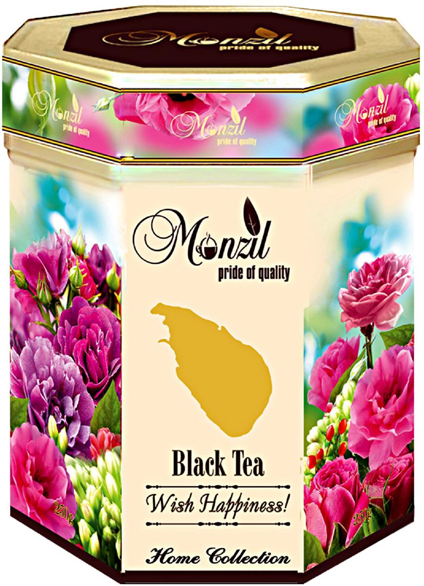 Monzil Rose of Ceylon чай черный крупнолистовой, 200 г greenfield чай greenfield классик брекфаст листовой черный 100г