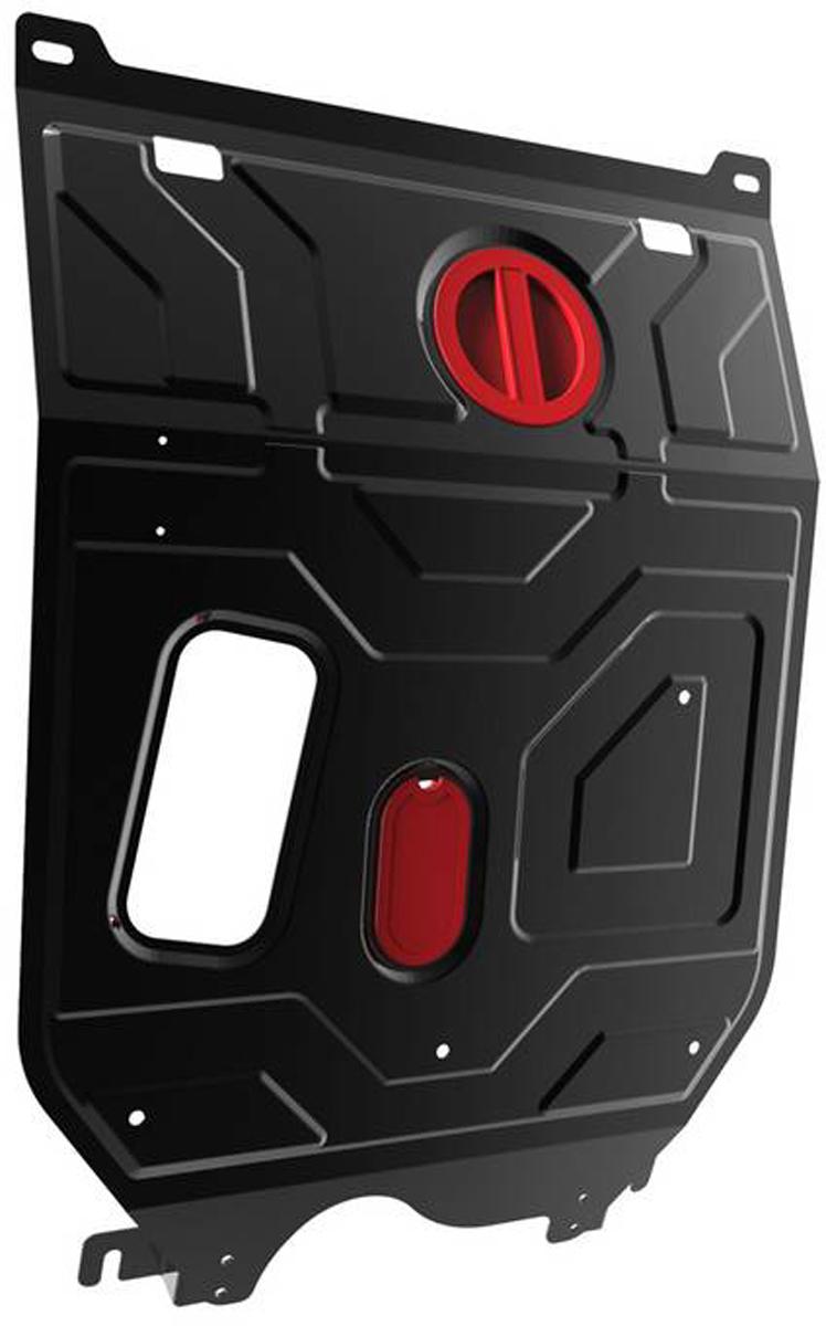 Защита картера и КПП Автоброня Daewoo Nexia 2008-, сталь 2 мм111.01310.1Защита картера и КПП Автоброня Daewoo Nexia 2008-, сталь 2 мм, комплект крепежа, 111.01310.1Стальные защиты Автоброня надежно защищают ваш автомобиль от повреждений при наезде на бордюры, выступающие канализационные люки, кромки поврежденного асфальта или при ремонте дорог, не говоря уже о загородных дорогах. - Имеют оптимальное соотношение цена-качество. - Спроектированы с учетом особенностей автомобиля, что делает установку удобной. - Защита устанавливается в штатные места кузова автомобиля. - Является надежной защитой для важных элементов на протяжении долгих лет. - Глубокий штамп дополнительно усиливает конструкцию защиты. - Подштамповка в местах крепления защищает крепеж от срезания. - Технологические отверстия там, где они необходимы для смены масла и слива воды, оборудованные заглушками, закрепленными на защите. Толщина стали 2 мм. В комплекте крепеж и инструкция по установке.
