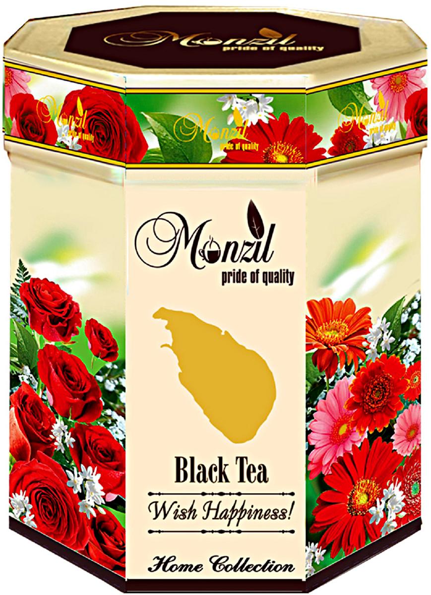 Monzil Wish Happiness! чай черный крупнолистовой, 200 г greenfield чай greenfield классик брекфаст листовой черный 100г