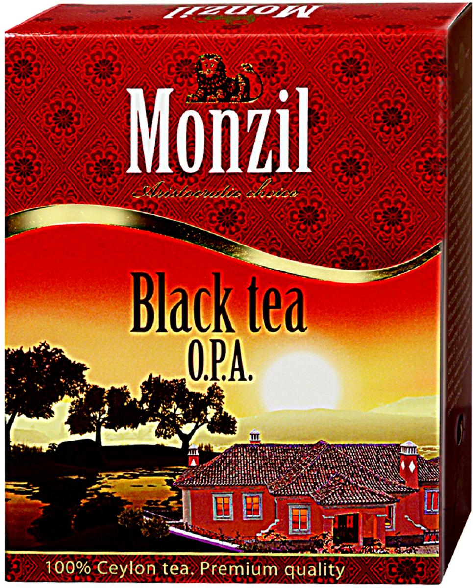 Monzil OPA чай черный крупнолистовой, 250 г4792131708400Чай Монзил — это яркий мир, необычный и разнообразный, открывающий новые грани вкуса, изысканные оттенки цвета, достоинства аромата. Чай дарит настоящим ценителям истинное наслаждение. Попробуйте чай Монзил и вы навсегла останетесь его поклонником!Всё о чае: сорта, факты, советы по выбору и употреблению. Статья OZON Гид