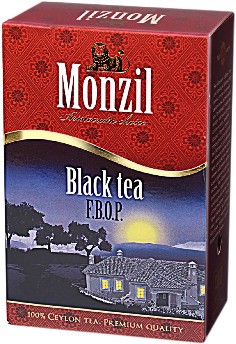 Monzil чай черный, 250 г greenfield blueberry forest черный листовой чай 250 г