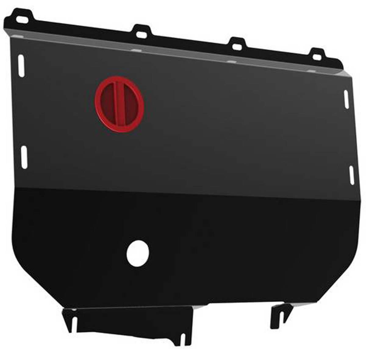 Защита картера и КПП Автоброня Fiat Ducato 2002-2011, сталь 2 мм111.01708.1Защита картера и КПП Автоброня Fiat Ducato картер, V - 2,3 2002-2011, сталь 2 мм, комплект крепежа, 111.01708.1Стальные защиты Автоброня надежно защищают ваш автомобиль от повреждений при наезде на бордюры, выступающие канализационные люки, кромки поврежденного асфальта или при ремонте дорог, не говоря уже о загородных дорогах. - Имеют оптимальное соотношение цена-качество. - Спроектированы с учетом особенностей автомобиля, что делает установку удобной. - Защита устанавливается в штатные места кузова автомобиля. - Является надежной защитой для важных элементов на протяжении долгих лет. - Глубокий штамп дополнительно усиливает конструкцию защиты. - Подштамповка в местах крепления защищает крепеж от срезания. - Технологические отверстия там, где они необходимы для смены масла и слива воды, оборудованные заглушками, закрепленными на защите. Толщина стали 2 мм. В комплекте крепеж и инструкция по установке.