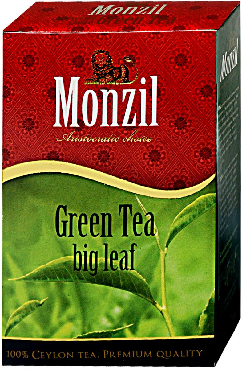 Monzil чай зеленый крупнолистовой, 100 г4796005761294Чай Монзил — это яркий мир, необычный и разнообразный, открывающий новые грани вкуса, изысканные оттенки цвета, достоинства аромата. Чай дарит настоящим ценителям истинное наслаждение. Попробуйте чай Монзил и вы навсегла останетесь его поклонником!Всё о чае: сорта, факты, советы по выбору и употреблению. Статья OZON Гид