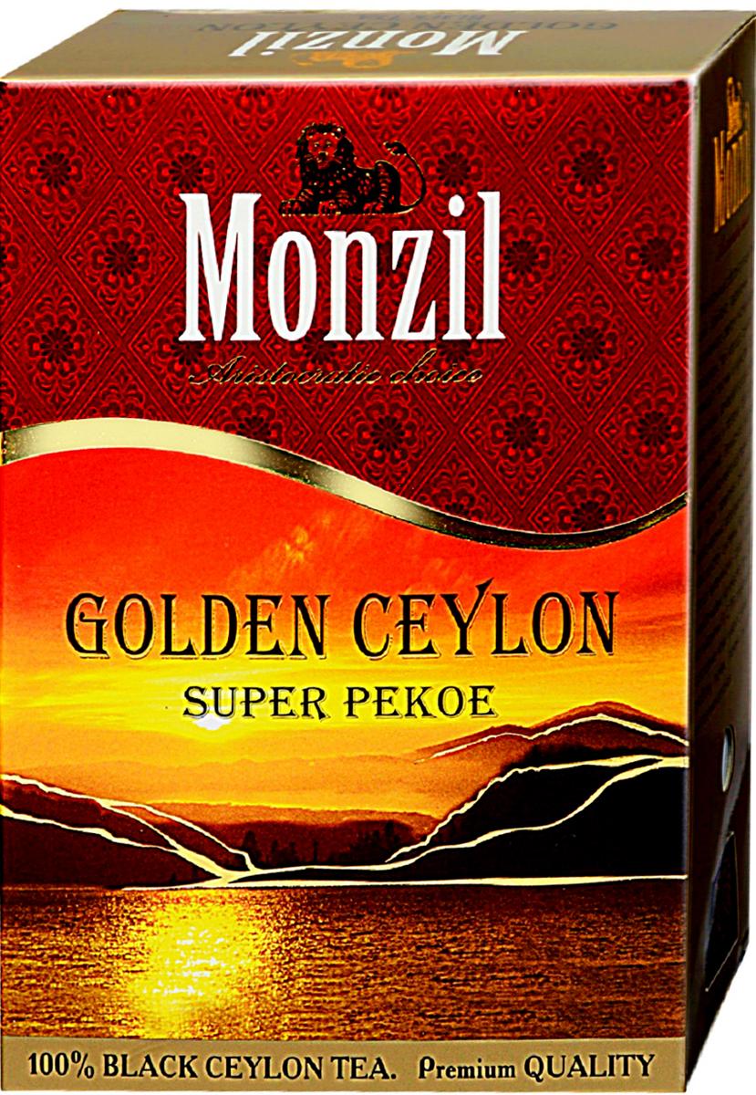 Monzil PEKOE чай черный крупнолистовой, 250 г greenfield чай greenfield классик брекфаст листовой черный 100г