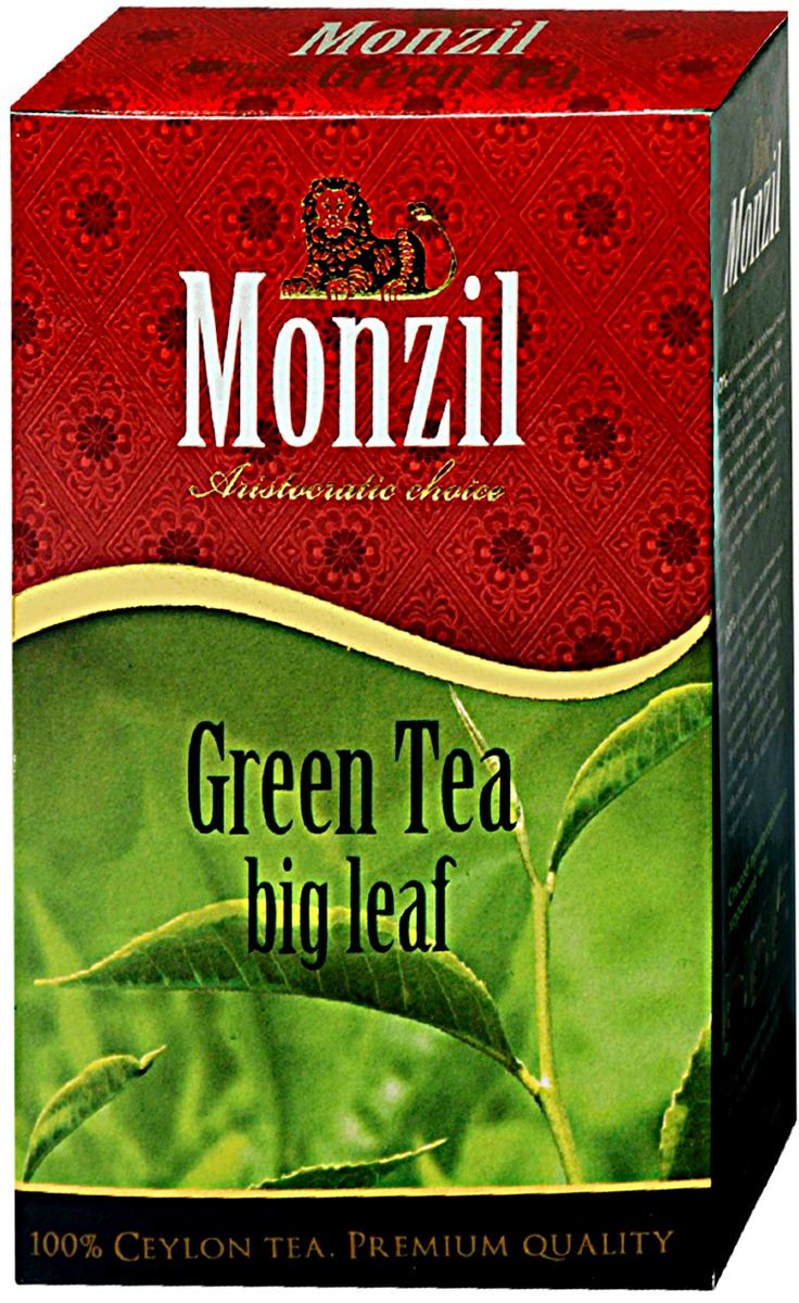 Monzil чай зеленый крупнолистовой, 250 г4796005761423Чай Монзил — это яркий мир, необычный и разнообразный, открывающий новые грани вкуса, изысканные оттенки цвета, достоинства аромата. Чай дарит настоящим ценителям истинное наслаждение. Попробуйте чай Монзил и вы навсегла останетесь его поклонником!