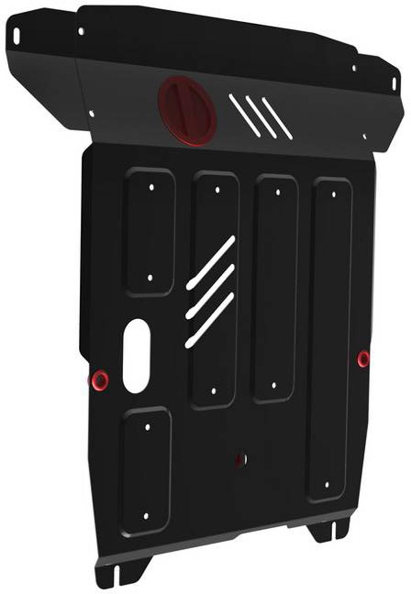 Защита картера и КПП Автоброня Hyundai Getz 2002-2010, сталь 2 мм111.02304.2Защита картера и КПП Автоброня Hyundai Getz, V - 1,1; 1,4; 1,6 2002-2010, сталь 2 мм, комплект крепежа, 111.02304.2Стальные защиты Автоброня надежно защищают ваш автомобиль от повреждений при наезде на бордюры, выступающие канализационные люки, кромки поврежденного асфальта или при ремонте дорог, не говоря уже о загородных дорогах.- Имеют оптимальное соотношение цена-качество.- Спроектированы с учетом особенностей автомобиля, что делает установку удобной.- Защита устанавливается в штатные места кузова автомобиля.- Является надежной защитой для важных элементов на протяжении долгих лет.- Глубокий штамп дополнительно усиливает конструкцию защиты.- Подштамповка в местах крепления защищает крепеж от срезания.- Технологические отверстия там, где они необходимы для смены масла и слива воды, оборудованные заглушками, закрепленными на защите.Толщина стали 2 мм.В комплекте крепеж и инструкция по установке.