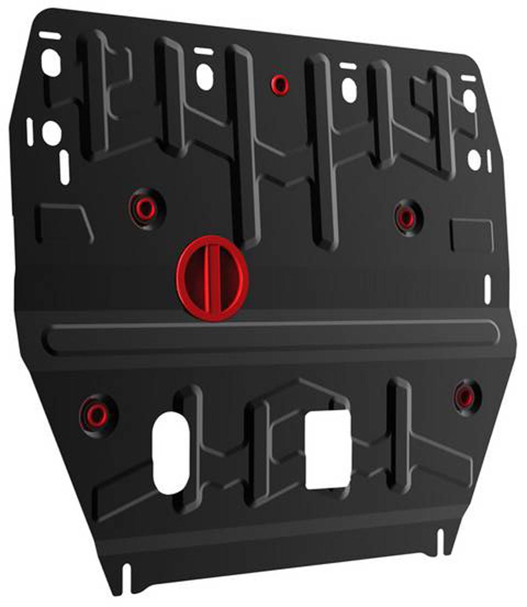 Защита картера и КПП Автоброня Hyundai i40 2012-2015, 2015-, сталь 2 мм111.02342.1Защита картера и КПП Автоброня Hyundai i40, V - 2,0 2012-2015, 2015-, сталь 2 мм, комплект крепежа, 111.02342.1Стальные защиты Автоброня надежно защищают ваш автомобиль от повреждений при наезде на бордюры, выступающие канализационные люки, кромки поврежденного асфальта или при ремонте дорог, не говоря уже о загородных дорогах. - Имеют оптимальное соотношение цена-качество. - Спроектированы с учетом особенностей автомобиля, что делает установку удобной. - Защита устанавливается в штатные места кузова автомобиля. - Является надежной защитой для важных элементов на протяжении долгих лет. - Глубокий штамп дополнительно усиливает конструкцию защиты. - Подштамповка в местах крепления защищает крепеж от срезания. - Технологические отверстия там, где они необходимы для смены масла и слива воды, оборудованные заглушками, закрепленными на защите. Толщина стали 2 мм. В комплекте крепеж и инструкция по установке.