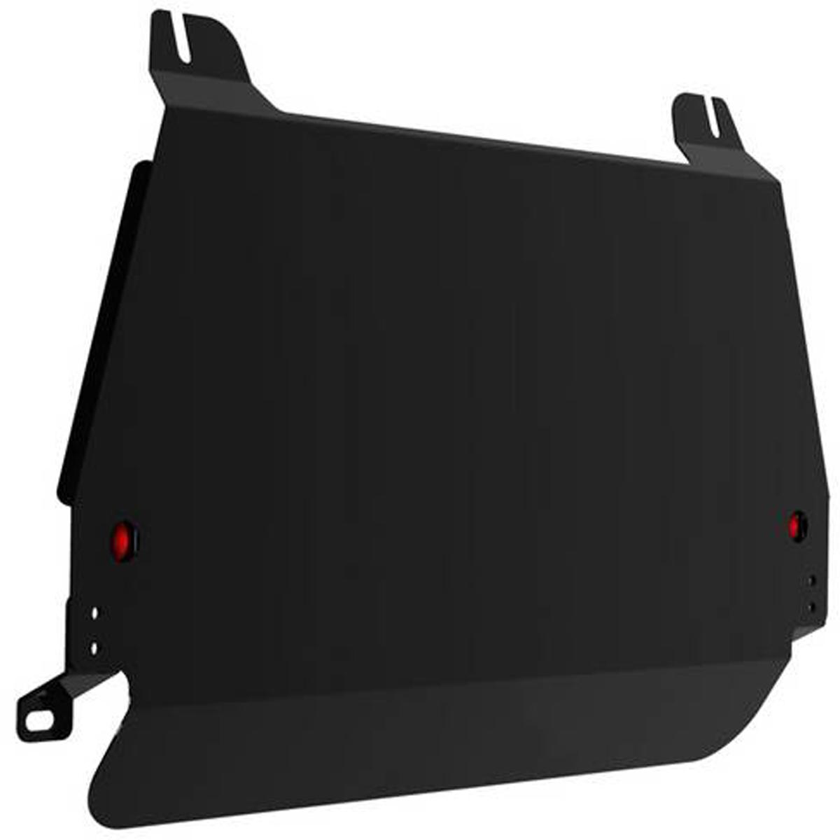 Защита картера и КПП Автоброня Lexus RX 300 2003-2009/Toyota Highlander 2003-2009, сталь 2 мм111.03203.1Защита картера и КПП Автоброня для Lexus RX 300, 330, 350, 400 2003-2009/Toyota Highlander, V - 2,4; 3,0 2003-2009, сталь 2 мм, комплект крепежа, 111.03203.1Стальные защиты Автоброня надежно защищают ваш автомобиль от повреждений при наезде на бордюры, выступающие канализационные люки, кромки поврежденного асфальта или при ремонте дорог, не говоря уже о загородных дорогах. - Имеют оптимальное соотношение цена-качество. - Спроектированы с учетом особенностей автомобиля, что делает установку удобной. - Защита устанавливается в штатные места кузова автомобиля. - Является надежной защитой для важных элементов на протяжении долгих лет. - Глубокий штамп дополнительно усиливает конструкцию защиты. - Подштамповка в местах крепления защищает крепеж от срезания. - Технологические отверстия там, где они необходимы для смены масла и слива воды, оборудованные заглушками, закрепленными на защите. Толщина стали 2 мм. В комплекте крепеж и инструкция по установке.
