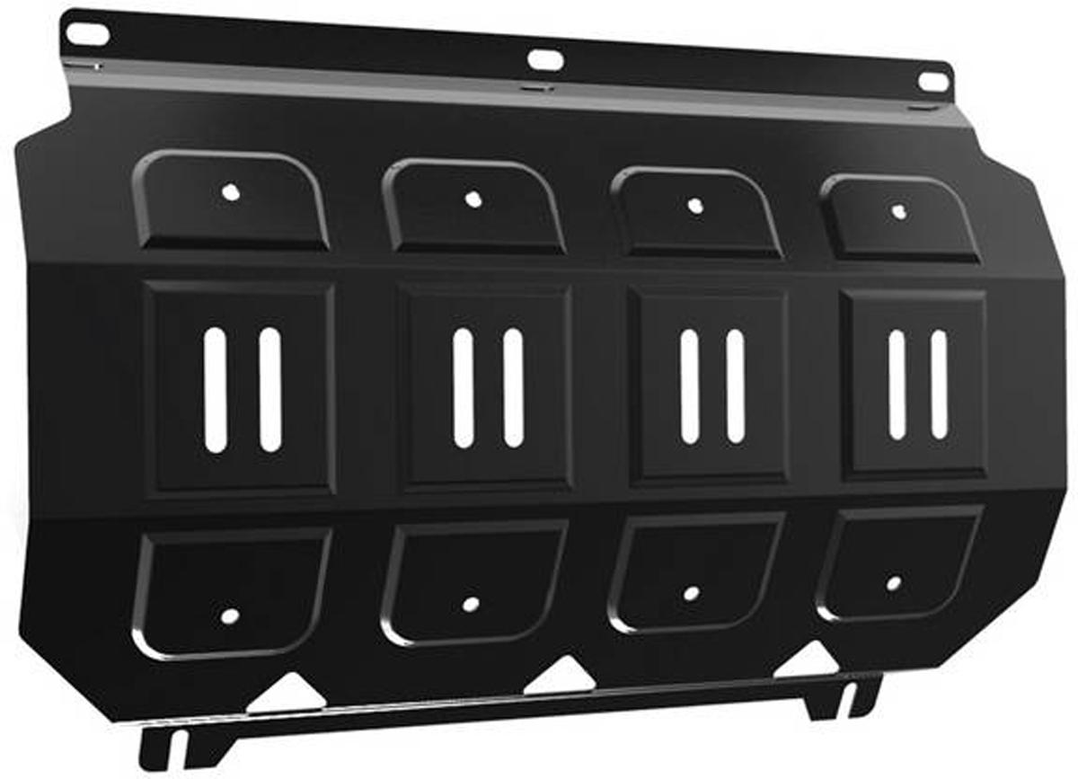 Защита радиатора Автоброня Mitsubishi L200 2006-2015/Mitsubishi Pajero Sport 2008-2016, сталь 2 мм111.04005.1Защита радиатора Автоброня для Mitsubishi L200 2006-2015/Mitsubishi Pajero Sport 2008-2016, сталь 2 мм, комплект крепежа, 111.04005.1 Дополнительно можно приобрести другие защитные элементы из комплекта: защита картера - 111.04006.1, защита КПП - 111.04024.1, защита РК - 111.04025.1Стальные защиты Автоброня надежно защищают ваш автомобиль от повреждений при наезде на бордюры, выступающие канализационные люки, кромки поврежденного асфальта или при ремонте дорог, не говоря уже о загородных дорогах. - Имеют оптимальное соотношение цена-качество. - Спроектированы с учетом особенностей автомобиля, что делает установку удобной. - Защита устанавливается в штатные места кузова автомобиля. - Является надежной защитой для важных элементов на протяжении долгих лет. - Глубокий штамп дополнительно усиливает конструкцию защиты. - Подштамповка в местах крепления защищает крепеж от срезания. - Технологические отверстия там, где они необходимы для смены масла и слива воды, оборудованные заглушками, закрепленными на защите. Толщина стали 2 мм. В комплекте крепеж и инструкция по установке.