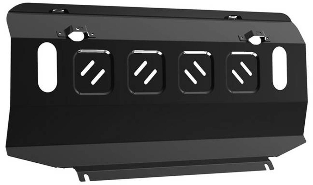 Защита радиатора Автоброня Mitsubishi Pajero IV 2006-2011 2011-2016/Mitsubishi Pajero III 1999-2006, сталь 2 мм111.04012.1Защита радиатора Автоброня для Mitsubishi Pajero IV, V - 3,0; 3,2(188hp, 200hp); 3,8 2006-2011 2011-2016/Mitsubishi Pajero III 1999-2006, сталь 2 мм, комплект крепежа, 111.04012.1Дополнительно можно приобрести другие защитные элементы из комплекта: защита картера - 111.04003.2, защита КПП - 111.04044.1, защита РК - 111.04011.5Стальные защиты Автоброня надежно защищают ваш автомобиль от повреждений при наезде на бордюры, выступающие канализационные люки, кромки поврежденного асфальта или при ремонте дорог, не говоря уже о загородных дорогах.- Имеют оптимальное соотношение цена-качество.- Спроектированы с учетом особенностей автомобиля, что делает установку удобной.- Защита устанавливается в штатные места кузова автомобиля.- Является надежной защитой для важных элементов на протяжении долгих лет.- Глубокий штамп дополнительно усиливает конструкцию защиты.- Подштамповка в местах крепления защищает крепеж от срезания.- Технологические отверстия там, где они необходимы для смены масла и слива воды, оборудованные заглушками, закрепленными на защите.Толщина стали 2 мм.В комплекте крепеж и инструкция по установке.