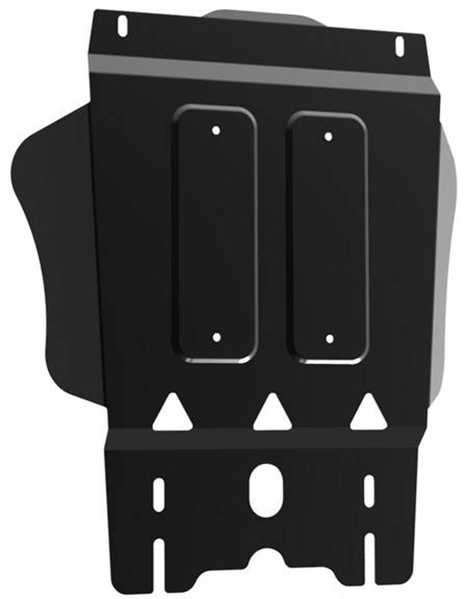 Защита КПП Автоброня Mitsubishi L200 2006-2015/Mitsubishi Pajero Sport 2008-2016, сталь 2 мм111.04024.1Защита КПП Автоброня для Mitsubishi L200 2006-2015/Mitsubishi Pajero Sport 2008-2016, сталь 2 мм, комплект крепежа, 111.04024.1 Дополнительно можно приобрести другие защитные элементы из комплекта: защита радиатора - 111.04005.1, защита картера - 111.04006.1, защита РК - 111.04025.1Стальные защиты Автоброня надежно защищают ваш автомобиль от повреждений при наезде на бордюры, выступающие канализационные люки, кромки поврежденного асфальта или при ремонте дорог, не говоря уже о загородных дорогах. - Имеют оптимальное соотношение цена-качество. - Спроектированы с учетом особенностей автомобиля, что делает установку удобной. - Защита устанавливается в штатные места кузова автомобиля. - Является надежной защитой для важных элементов на протяжении долгих лет. - Глубокий штамп дополнительно усиливает конструкцию защиты. - Подштамповка в местах крепления защищает крепеж от срезания. - Технологические отверстия там, где они необходимы для смены масла и слива воды, оборудованные заглушками, закрепленными на защите. Толщина стали 2 мм. В комплекте крепеж и инструкция по установке.