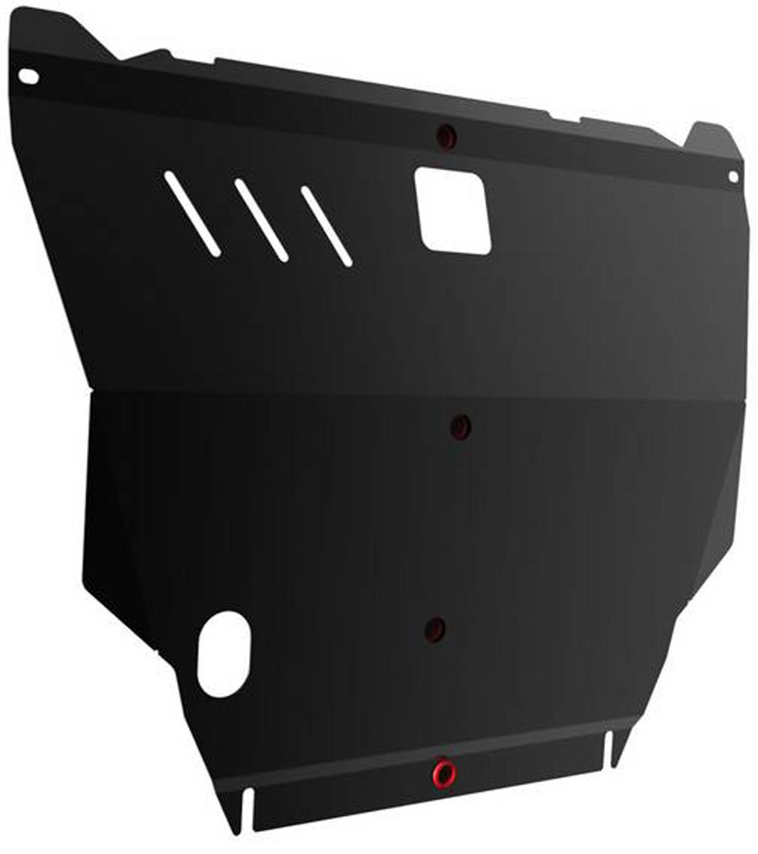 Защита картера Автоброня Nissan X-Trail 2001-2007, сталь 2 мм111.04138.1Защита картера Автоброня Nissan X-Trail 2001-2007, сталь 2 мм, комплект крепежа, 111.04138.1Стальные защиты Автоброня надежно защищают ваш автомобиль от повреждений при наезде на бордюры, выступающие канализационные люки, кромки поврежденного асфальта или при ремонте дорог, не говоря уже о загородных дорогах. - Имеют оптимальное соотношение цена-качество. - Спроектированы с учетом особенностей автомобиля, что делает установку удобной. - Защита устанавливается в штатные места кузова автомобиля. - Является надежной защитой для важных элементов на протяжении долгих лет. - Глубокий штамп дополнительно усиливает конструкцию защиты. - Подштамповка в местах крепления защищает крепеж от срезания. - Технологические отверстия там, где они необходимы для смены масла и слива воды, оборудованные заглушками, закрепленными на защите. Толщина стали 2 мм. В комплекте крепеж и инструкция по установке.