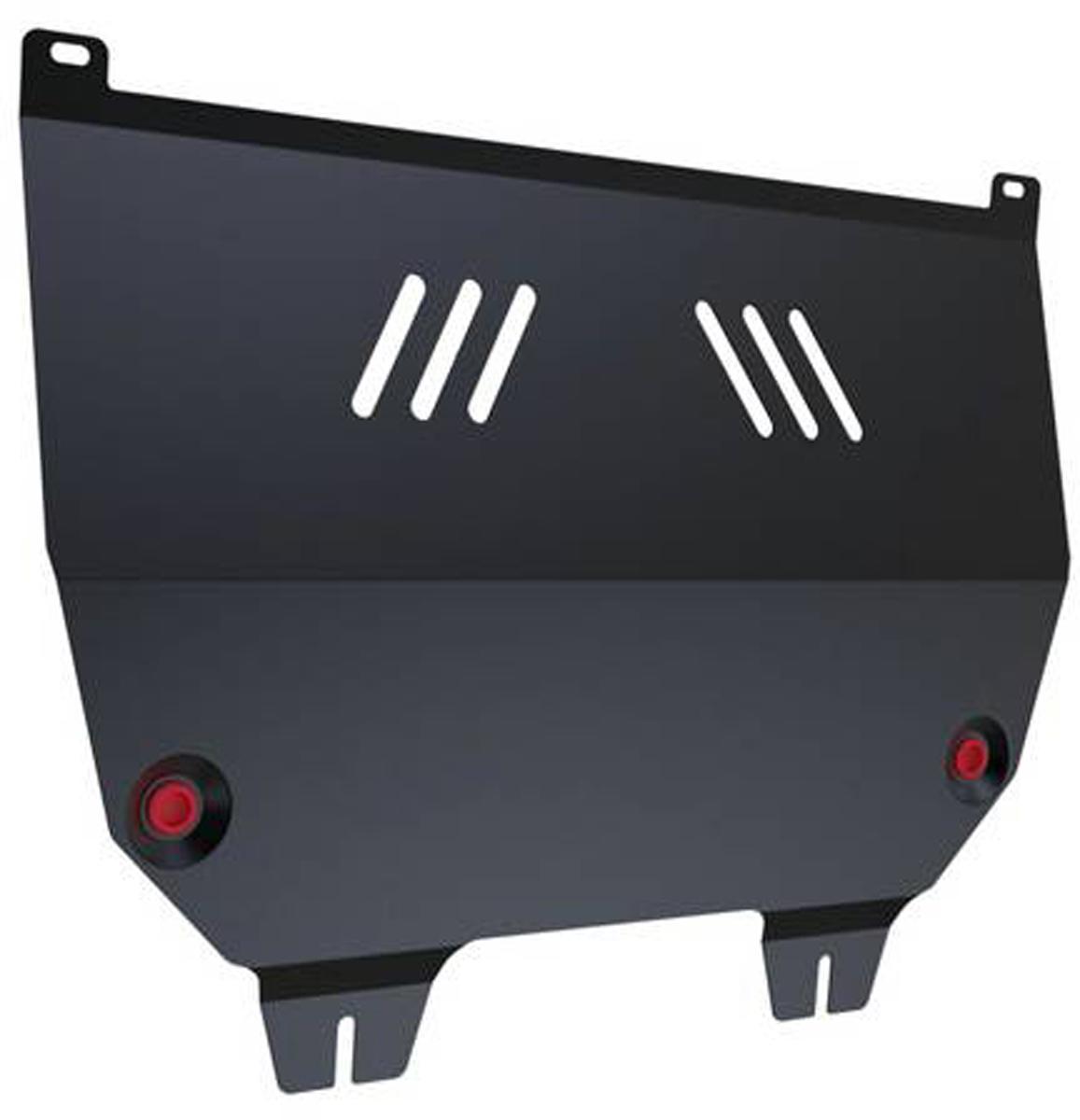 Защита картера и КПП Автоброня Peugeot 307 2001-2008, сталь 2 мм111.04304.1Защита картера и КПП Автоброня Peugeot 307 2001-2008, сталь 2 мм, комплект крепежа, 111.04304.1Стальные защиты Автоброня надежно защищают ваш автомобиль от повреждений при наезде на бордюры, выступающие канализационные люки, кромки поврежденного асфальта или при ремонте дорог, не говоря уже о загородных дорогах. - Имеют оптимальное соотношение цена-качество. - Спроектированы с учетом особенностей автомобиля, что делает установку удобной. - Защита устанавливается в штатные места кузова автомобиля. - Является надежной защитой для важных элементов на протяжении долгих лет. - Глубокий штамп дополнительно усиливает конструкцию защиты. - Подштамповка в местах крепления защищает крепеж от срезания. - Технологические отверстия там, где они необходимы для смены масла и слива воды, оборудованные заглушками, закрепленными на защите. Толщина стали 2 мм. В комплекте крепеж и инструкция по установке.