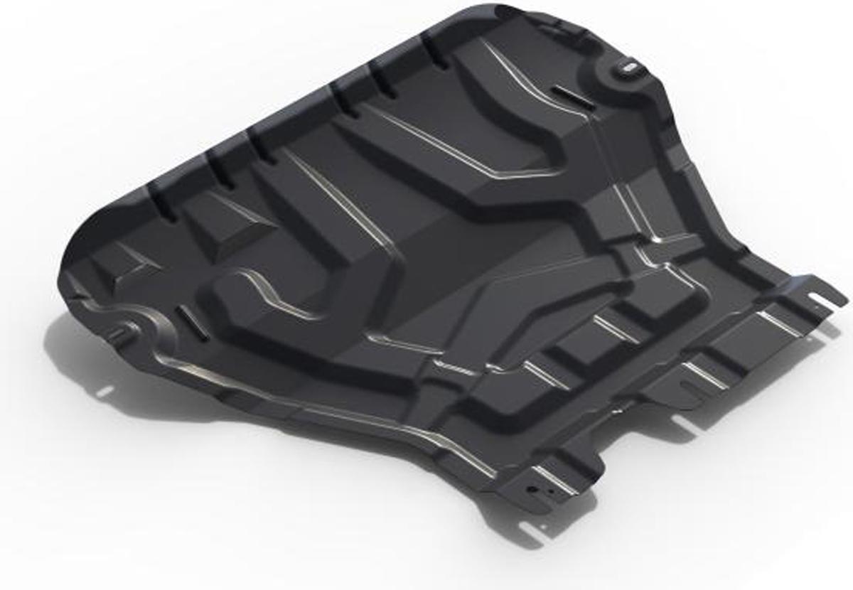 Защита картера и КПП Автоброня Skoda Octavia A7 2013-, сталь 2 мм111.05111.1Защита картера и КПП Автоброня Skoda Octavia A7(кроме Webasto), V - 1,4TFSI; 1,8TSI; 1,6MPI 2013-, сталь 2 мм, комплект крепежа, 111.05111.1Стальные защиты Автоброня надежно защищают ваш автомобиль от повреждений при наезде на бордюры, выступающие канализационные люки, кромки поврежденного асфальта или при ремонте дорог, не говоря уже о загородных дорогах. - Имеют оптимальное соотношение цена-качество. - Спроектированы с учетом особенностей автомобиля, что делает установку удобной. - Защита устанавливается в штатные места кузова автомобиля. - Является надежной защитой для важных элементов на протяжении долгих лет. - Глубокий штамп дополнительно усиливает конструкцию защиты. - Подштамповка в местах крепления защищает крепеж от срезания. - Технологические отверстия там, где они необходимы для смены масла и слива воды, оборудованные заглушками, закрепленными на защите. Толщина стали 2 мм. В комплекте крепеж и инструкция по установке.