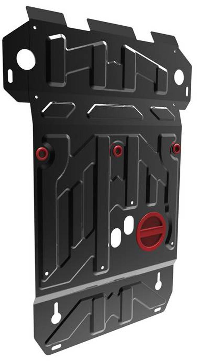 Защита картера Автоброня Suzuki Grand Vitara 2005-, сталь 2 мм111.05501.5Защита картера Автоброня Suzuki Grand Vitara 2005-, сталь 2 мм, комплект крепежа, 111.05501.5 Дополнительно можно приобрести другие защитные элементы из комплекта: защита КПП - 111.05502.3, защита РК - 111.05503.4Стальные защиты Автоброня надежно защищают ваш автомобиль от повреждений при наезде на бордюры, выступающие канализационные люки, кромки поврежденного асфальта или при ремонте дорог, не говоря уже о загородных дорогах. - Имеют оптимальное соотношение цена-качество. - Спроектированы с учетом особенностей автомобиля, что делает установку удобной. - Защита устанавливается в штатные места кузова автомобиля. - Является надежной защитой для важных элементов на протяжении долгих лет. - Глубокий штамп дополнительно усиливает конструкцию защиты. - Подштамповка в местах крепления защищает крепеж от срезания. - Технологические отверстия там, где они необходимы для смены масла и слива воды, оборудованные заглушками, закрепленными на защите. Толщина стали 2 мм. В комплекте крепеж и инструкция по установке.