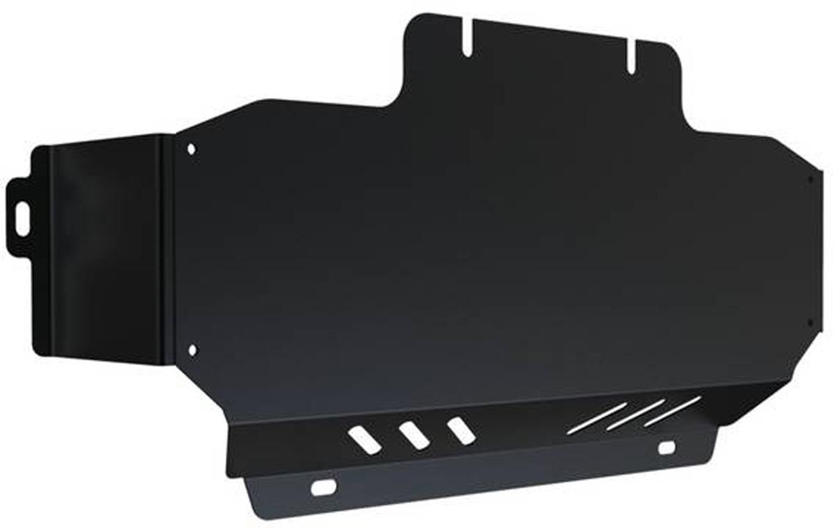 Защита радиатора Автоброня Kia Sorento 2005-2009, сталь 2 мм1.02807.1Защита радиатора Автоброня Kia Sorento, V - 2,5; 3,3 2005-2009, сталь 2 мм, штатный крепеж, 1.02807.1 Дополнительно можно приобрести другие защитные элементы из комплекта: защита картера - 111.02808.1, защита КПП - 111.02809.1, защита РК - 111.02810.1Стальные защиты Автоброня надежно защищают ваш автомобиль от повреждений при наезде на бордюры, выступающие канализационные люки, кромки поврежденного асфальта или при ремонте дорог, не говоря уже о загородных дорогах. - Имеют оптимальное соотношение цена-качество. - Спроектированы с учетом особенностей автомобиля, что делает установку удобной. - Защита устанавливается в штатные места кузова автомобиля. - Является надежной защитой для важных элементов на протяжении долгих лет. - Глубокий штамп дополнительно усиливает конструкцию защиты. - Подштамповка в местах крепления защищает крепеж от срезания. - Технологические отверстия там, где они необходимы для смены масла и слива воды, оборудованные заглушками, закрепленными на защите. Толщина стали 2 мм. В комплекте инструкция по установке. При установке используется штатный крепеж автомобиля.Уважаемые клиенты! Обращаем ваше внимание на тот факт, что защита имеет форму, соответствующую модели данного автомобиля. Наличие глубокого штампа и лючков для смены фильтров/масла предусмотрено не на всех защитах. Фото служит для визуального восприятия товара.