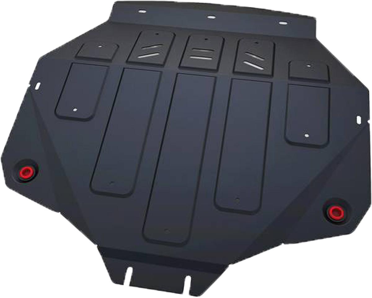 Защита картера и КПП Автоброня ACURA MDX 2014-, сталь 2 мм111.00101.1Защита картера и КПП Автоброня ACURA MDX, V - 3,5 2014-, сталь 2 мм, комплект крепежа, 111.00101.1Стальные защиты Автоброня надежно защищают ваш автомобиль от повреждений при наезде на бордюры, выступающие канализационные люки, кромки поврежденного асфальта или при ремонте дорог, не говоря уже о загородных дорогах. - Имеют оптимальное соотношение цена-качество. - Спроектированы с учетом особенностей автомобиля, что делает установку удобной. - Защита устанавливается в штатные места кузова автомобиля. - Является надежной защитой для важных элементов на протяжении долгих лет. - Глубокий штамп дополнительно усиливает конструкцию защиты. - Подштамповка в местах крепления защищает крепеж от срезания. - Технологические отверстия там, где они необходимы для смены масла и слива воды, оборудованные заглушками, закрепленными на защите. Толщина стали 2 мм. В комплекте крепеж и инструкция по установке.Уважаемые клиенты! Обращаем ваше внимание на тот факт, что защита имеет форму, соответствующую модели данного автомобиля. Наличие глубокого штампа и лючков для смены фильтров/масла предусмотрено не на всех защитах. Фото служит для визуального восприятия товара.