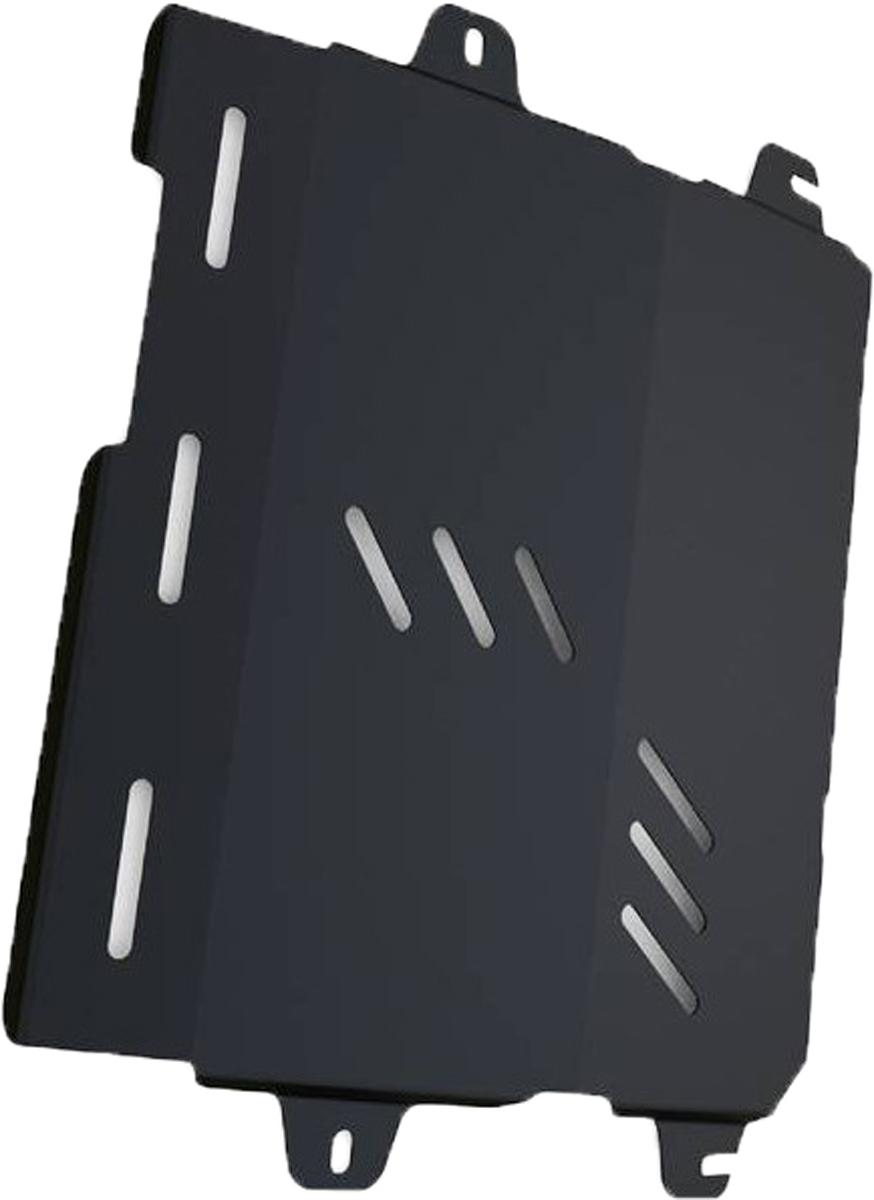 Защита картера и КПП Автоброня Cadillac SRX 2010-, сталь 2 мм111.00805.1Защита картера и КПП Автоброня Cadillac SRX, V - 3,0 2010-, сталь 2 мм, комплект крепежа, 111.00805.1Стальные защиты Автоброня надежно защищают ваш автомобиль от повреждений при наезде на бордюры, выступающие канализационные люки, кромки поврежденного асфальта или при ремонте дорог, не говоря уже о загородных дорогах.- Имеют оптимальное соотношение цена-качество.- Спроектированы с учетом особенностей автомобиля, что делает установку удобной.- Защита устанавливается в штатные места кузова автомобиля.- Является надежной защитой для важных элементов на протяжении долгих лет.- Глубокий штамп дополнительно усиливает конструкцию защиты.- Подштамповка в местах крепления защищает крепеж от срезания.- Технологические отверстия там, где они необходимы для смены масла и слива воды, оборудованные заглушками, закрепленными на защите.Толщина стали 2 мм.В комплекте крепеж и инструкция по установке.Уважаемые клиенты!Обращаем ваше внимание на тот факт, что защита имеет форму, соответствующую модели данного автомобиля. Наличие глубокого штампа и лючков для смены фильтров/масла предусмотрено не на всех защитах. Фото служит для визуального восприятия товара.