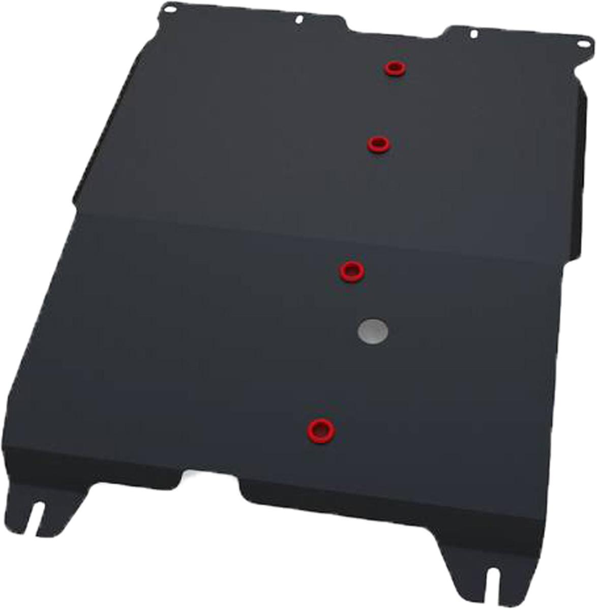 Защита картера и КПП Автоброня Chery Cross Eastar 2006-2014, сталь 2 мм111.00907.1Защита картера и КПП Автоброня Chery Cross Eastar (B14), V - 2,0 2006-2014, сталь 2 мм, комплект крепежа, 111.00907.1Стальные защиты Автоброня надежно защищают ваш автомобиль от повреждений при наезде на бордюры, выступающие канализационные люки, кромки поврежденного асфальта или при ремонте дорог, не говоря уже о загородных дорогах.- Имеют оптимальное соотношение цена-качество.- Спроектированы с учетом особенностей автомобиля, что делает установку удобной.- Защита устанавливается в штатные места кузова автомобиля.- Является надежной защитой для важных элементов на протяжении долгих лет.- Глубокий штамп дополнительно усиливает конструкцию защиты.- Подштамповка в местах крепления защищает крепеж от срезания.- Технологические отверстия там, где они необходимы для смены масла и слива воды, оборудованные заглушками, закрепленными на защите.Толщина стали 2 мм.В комплекте крепеж и инструкция по установке.Уважаемые клиенты!Обращаем ваше внимание на тот факт, что защита имеет форму, соответствующую модели данного автомобиля. Наличие глубокого штампа и лючков для смены фильтров/масла предусмотрено не на всех защитах. Фото служит для визуального восприятия товара.