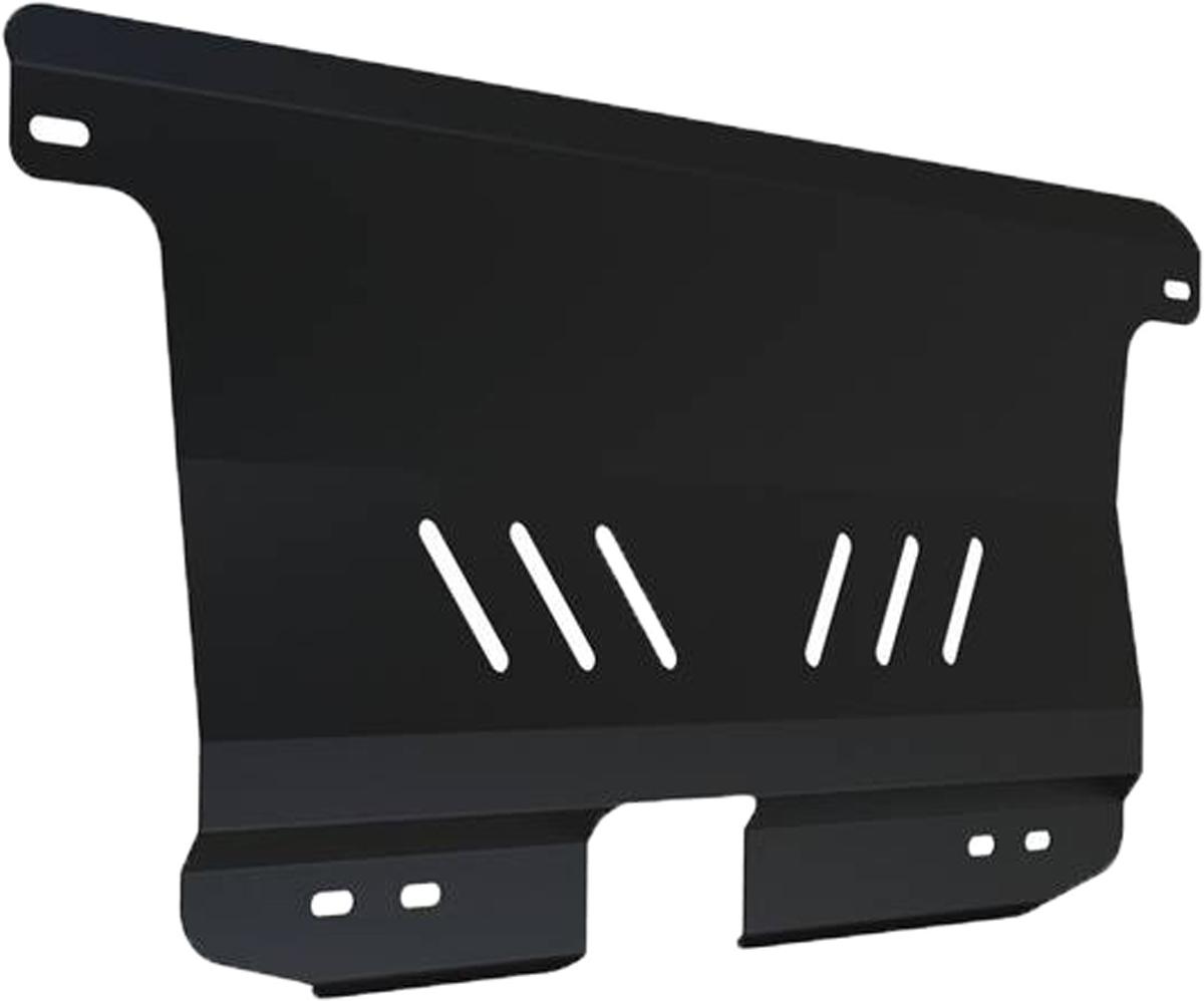Защита картера и КПП Автоброня Chevrolet Spark 2005-2010, сталь 2 мм111.01008.1Защита картера и КПП Автоброня Chevrolet Spark, V - 0,8 ;1,0 2005-2010, сталь 2 мм, комплект крепежа, 111.01008.1Стальные защиты Автоброня надежно защищают ваш автомобиль от повреждений при наезде на бордюры, выступающие канализационные люки, кромки поврежденного асфальта или при ремонте дорог, не говоря уже о загородных дорогах.- Имеют оптимальное соотношение цена-качество.- Спроектированы с учетом особенностей автомобиля, что делает установку удобной.- Защита устанавливается в штатные места кузова автомобиля.- Является надежной защитой для важных элементов на протяжении долгих лет.- Глубокий штамп дополнительно усиливает конструкцию защиты.- Подштамповка в местах крепления защищает крепеж от срезания.- Технологические отверстия там, где они необходимы для смены масла и слива воды, оборудованные заглушками, закрепленными на защите.Толщина стали 2 мм.В комплекте крепеж и инструкция по установке.Уважаемые клиенты!Обращаем ваше внимание на тот факт, что защита имеет форму, соответствующую модели данного автомобиля. Наличие глубокого штампа и лючков для смены фильтров/масла предусмотрено не на всех защитах. Фото служит для визуального восприятия товара.