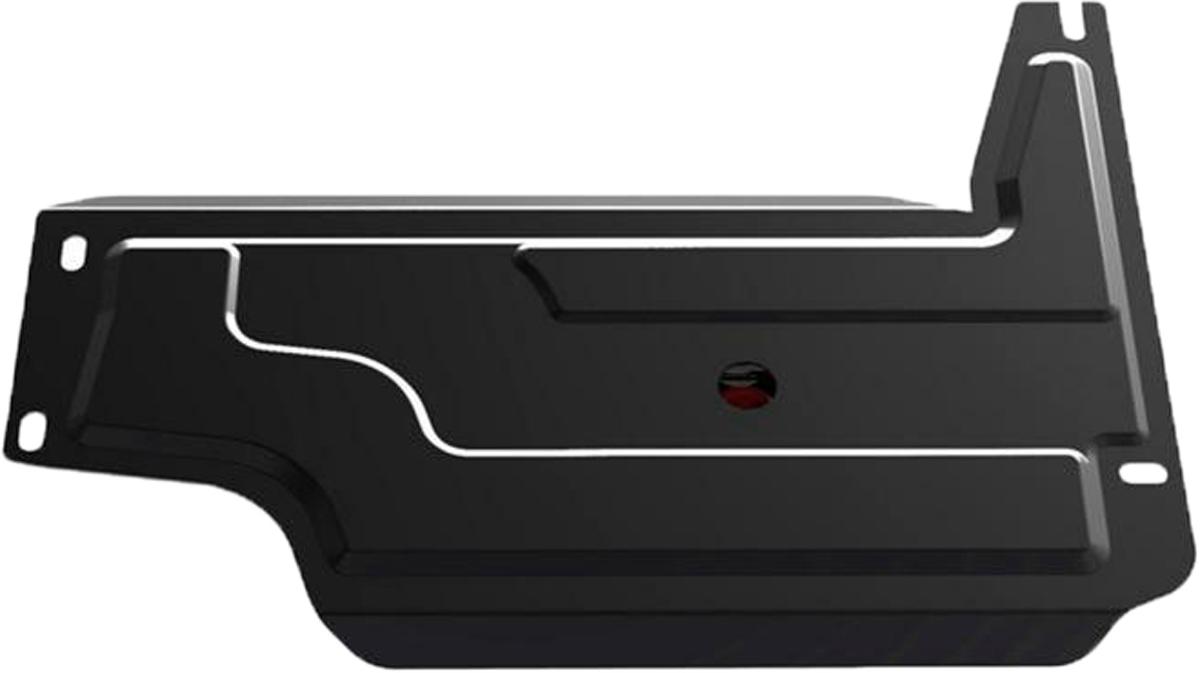 Защита РК Автоброня Chevrolet Niva 2002-, сталь 2 мм111.01011.3Защита РК Автоброня Chevrolet Niva, V- 1,7 2002-, сталь 2 мм, комплект крепежа, 111.01011.3Дополнительно можно приобрести другие защитные элементы из комплекта: защита КПП - 111.01014.2, защита картера - 1.01017.1Стальные защиты Автоброня надежно защищают ваш автомобиль от повреждений при наезде на бордюры, выступающие канализационные люки, кромки поврежденного асфальта или при ремонте дорог, не говоря уже о загородных дорогах.- Имеют оптимальное соотношение цена-качество.- Спроектированы с учетом особенностей автомобиля, что делает установку удобной.- Защита устанавливается в штатные места кузова автомобиля.- Является надежной защитой для важных элементов на протяжении долгих лет.- Глубокий штамп дополнительно усиливает конструкцию защиты.- Подштамповка в местах крепления защищает крепеж от срезания.- Технологические отверстия там, где они необходимы для смены масла и слива воды, оборудованные заглушками, закрепленными на защите.Толщина стали 2 мм.В комплекте крепеж и инструкция по установке.Уважаемые клиенты!Обращаем ваше внимание на тот факт, что защита имеет форму, соответствующую модели данного автомобиля. Наличие глубокого штампа и лючков для смены фильтров/масла предусмотрено не на всех защитах. Фото служит для визуального восприятия товара.