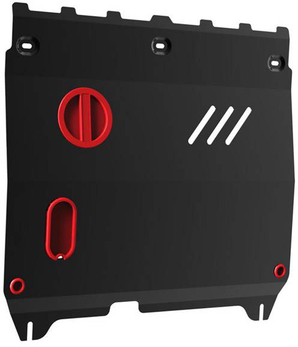 Защита картера и КПП Автоброня Chevrolet Spark 2010-2016/Ravon R2 2016-, сталь 2 мм111.01018.1Защита картера и КПП Автоброня для Chevrolet Spark АКПП, V - 1,0 2010-2016/Ravon R2, V - 1,2i 2016-, сталь 2 мм, комплект крепежа, 111.01018.1Стальные защиты Автоброня надежно защищают ваш автомобиль от повреждений при наезде на бордюры, выступающие канализационные люки, кромки поврежденного асфальта или при ремонте дорог, не говоря уже о загородных дорогах. - Имеют оптимальное соотношение цена-качество. - Спроектированы с учетом особенностей автомобиля, что делает установку удобной. - Защита устанавливается в штатные места кузова автомобиля. - Является надежной защитой для важных элементов на протяжении долгих лет. - Глубокий штамп дополнительно усиливает конструкцию защиты. - Подштамповка в местах крепления защищает крепеж от срезания. - Технологические отверстия там, где они необходимы для смены масла и слива воды, оборудованные заглушками, закрепленными на защите. Толщина стали 2 мм. В комплекте крепеж и инструкция по установке.Уважаемые клиенты! Обращаем ваше внимание на тот факт, что защита имеет форму, соответствующую модели данного автомобиля. Наличие глубокого штампа и лючков для смены фильтров/масла предусмотрено не на всех защитах. Фото служит для визуального восприятия товара.