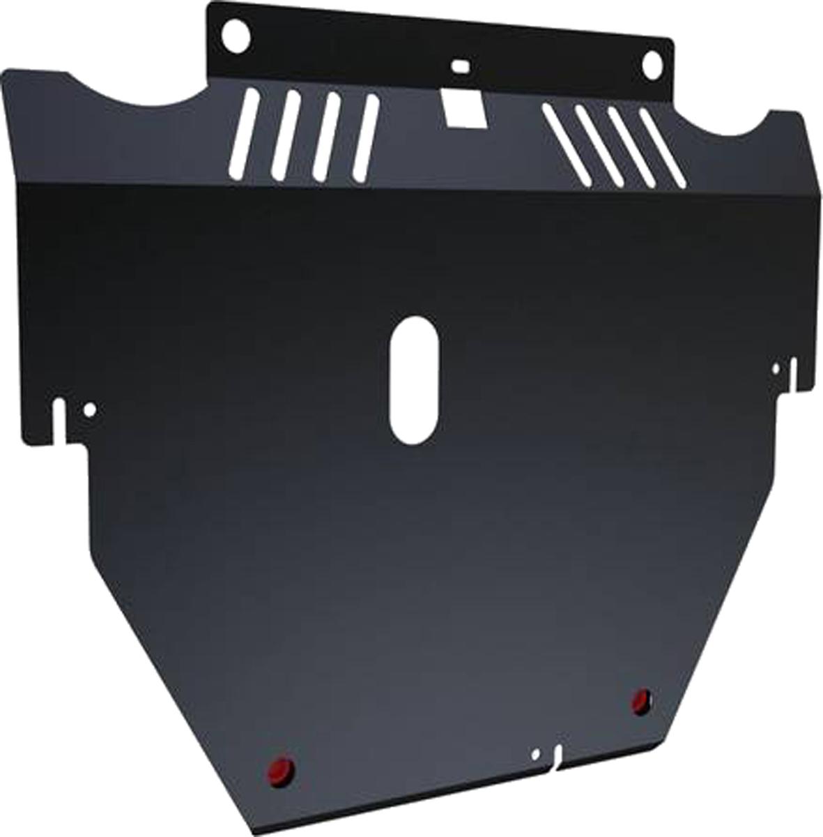 Защита картера и КПП Автоброня Ford Mondeo 2007-2010/Ford S-Max 2006-2010, сталь 2 мм111.01808.1Защита картера и КПП Автоброня для Ford Mondeo, V - 2,5Т 2007-2010/Ford S-Max, V - 2,5Т 2006-2010, сталь 2 мм, комплект крепежа, 111.01808.1Стальные защиты Автоброня надежно защищают ваш автомобиль от повреждений при наезде на бордюры, выступающие канализационные люки, кромки поврежденного асфальта или при ремонте дорог, не говоря уже о загородных дорогах.- Имеют оптимальное соотношение цена-качество.- Спроектированы с учетом особенностей автомобиля, что делает установку удобной.- Защита устанавливается в штатные места кузова автомобиля.- Является надежной защитой для важных элементов на протяжении долгих лет.- Глубокий штамп дополнительно усиливает конструкцию защиты.- Подштамповка в местах крепления защищает крепеж от срезания.- Технологические отверстия там, где они необходимы для смены масла и слива воды, оборудованные заглушками, закрепленными на защите.Толщина стали 2 мм.В комплекте крепеж и инструкция по установке.Уважаемые клиенты!Обращаем ваше внимание на тот факт, что защита имеет форму, соответствующую модели данного автомобиля. Наличие глубокого штампа и лючков для смены фильтров/масла предусмотрено не на всех защитах. Фото служит для визуального восприятия товара.