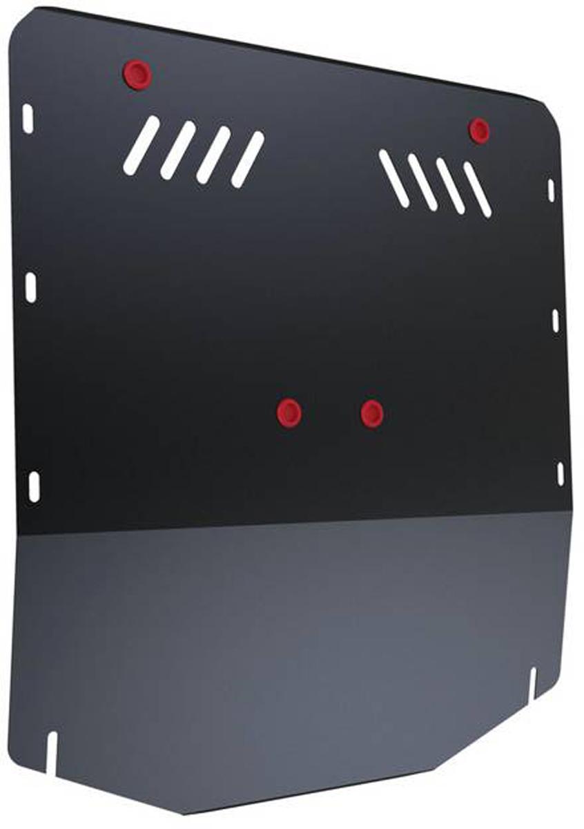 Защита картера и КПП Автоброня Ford Transit 2007-2014, сталь 2 мм111.01817.1Защита картера и КПП Автоброня Ford Transit задний привод (RWD), V - 2,2TD; 2,4TD 2007-2014, сталь 2 мм, комплект крепежа, 111.01817.1Стальные защиты Автоброня надежно защищают ваш автомобиль от повреждений при наезде на бордюры, выступающие канализационные люки, кромки поврежденного асфальта или при ремонте дорог, не говоря уже о загородных дорогах. - Имеют оптимальное соотношение цена-качество. - Спроектированы с учетом особенностей автомобиля, что делает установку удобной. - Защита устанавливается в штатные места кузова автомобиля. - Является надежной защитой для важных элементов на протяжении долгих лет. - Глубокий штамп дополнительно усиливает конструкцию защиты. - Подштамповка в местах крепления защищает крепеж от срезания. - Технологические отверстия там, где они необходимы для смены масла и слива воды, оборудованные заглушками, закрепленными на защите. Толщина стали 2 мм. В комплекте крепеж и инструкция по установке.Уважаемые клиенты! Обращаем ваше внимание на тот факт, что защита имеет форму, соответствующую модели данного автомобиля. Наличие глубокого штампа и лючков для смены фильтров/масла предусмотрено не на всех защитах. Фото служит для визуального восприятия товара.