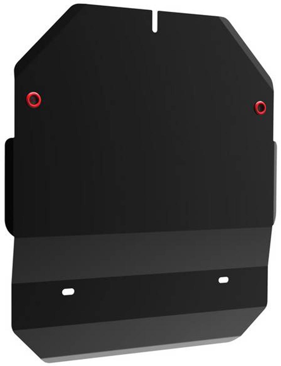 Защита картера и КПП Автоброня Honda Fit 2001-2008, сталь 2 мм111.02111.1Защита картера и КПП Автоброня Honda Fit 2001-2008, сталь 2 мм, комплект крепежа, 111.02111.1Стальные защиты Автоброня надежно защищают ваш автомобиль от повреждений при наезде на бордюры, выступающие канализационные люки, кромки поврежденного асфальта или при ремонте дорог, не говоря уже о загородных дорогах. - Имеют оптимальное соотношение цена-качество. - Спроектированы с учетом особенностей автомобиля, что делает установку удобной. - Защита устанавливается в штатные места кузова автомобиля. - Является надежной защитой для важных элементов на протяжении долгих лет. - Глубокий штамп дополнительно усиливает конструкцию защиты. - Подштамповка в местах крепления защищает крепеж от срезания. - Технологические отверстия там, где они необходимы для смены масла и слива воды, оборудованные заглушками, закрепленными на защите. Толщина стали 2 мм. В комплекте крепеж и инструкция по установке.Уважаемые клиенты! Обращаем ваше внимание на тот факт, что защита имеет форму, соответствующую модели данного автомобиля. Наличие глубокого штампа и лючков для смены фильтров/масла предусмотрено не на всех защитах. Фото служит для визуального восприятия товара.