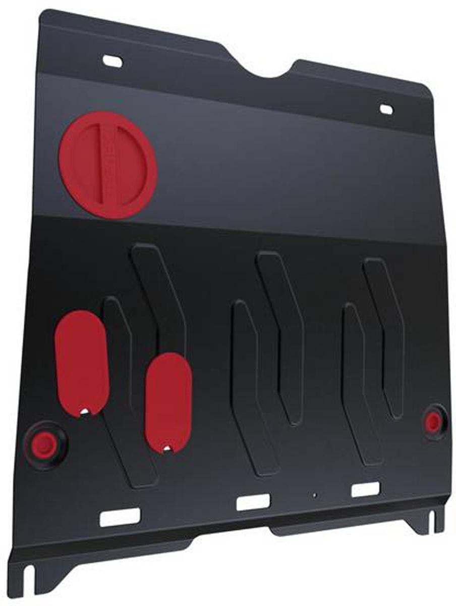 Защита картера и КПП Автоброня Honda Accord 2013-, сталь 2 мм111.02126.1Защита картера и КПП Автоброня Honda Accord, V - 2,4; 3,5 2013-, сталь 2 мм, комплект крепежа, 111.02126.1Стальные защиты Автоброня надежно защищают ваш автомобиль от повреждений при наезде на бордюры, выступающие канализационные люки, кромки поврежденного асфальта или при ремонте дорог, не говоря уже о загородных дорогах. - Имеют оптимальное соотношение цена-качество. - Спроектированы с учетом особенностей автомобиля, что делает установку удобной. - Защита устанавливается в штатные места кузова автомобиля. - Является надежной защитой для важных элементов на протяжении долгих лет. - Глубокий штамп дополнительно усиливает конструкцию защиты. - Подштамповка в местах крепления защищает крепеж от срезания. - Технологические отверстия там, где они необходимы для смены масла и слива воды, оборудованные заглушками, закрепленными на защите. Толщина стали 2 мм. В комплекте крепеж и инструкция по установке.Уважаемые клиенты! Обращаем ваше внимание на тот факт, что защита имеет форму, соответствующую модели данного автомобиля. Наличие глубокого штампа и лючков для смены фильтров/масла предусмотрено не на всех защитах. Фото служит для визуального восприятия товара.