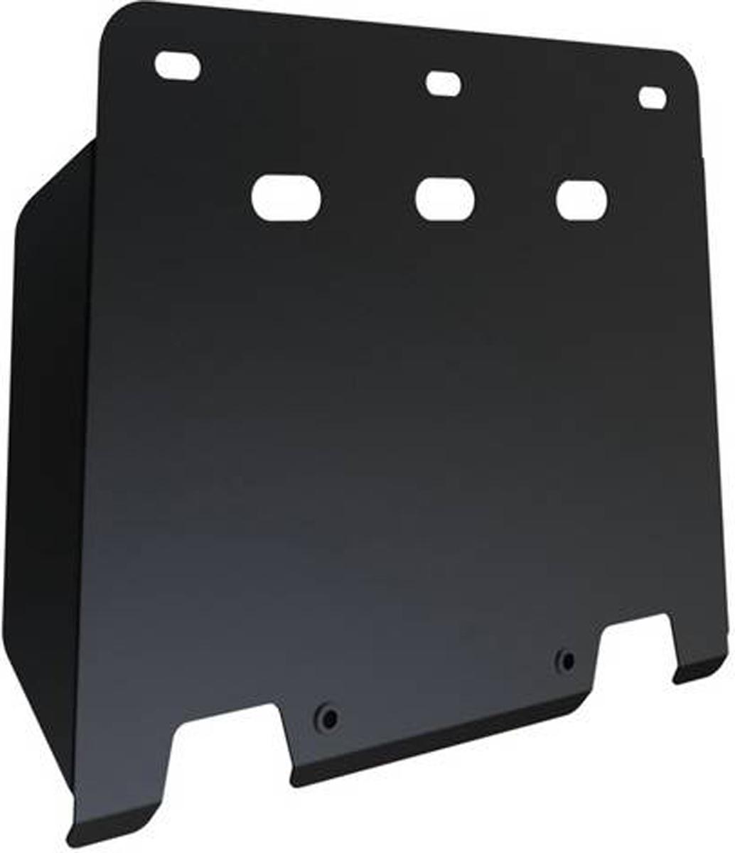 Защита КПП Автоброня Hyundai H1 2007-, сталь 2 мм111.02335.1Защита КПП Автоброня Hyundai H1 2007-, сталь 2 мм, комплект крепежа, 111.02335.1 Дополнительно можно приобрести другие защитные элементы из комплекта: защита радиатора и картера - 111.02334.1, защита КПП ч.2 - 111.02336.1Стальные защиты Автоброня надежно защищают ваш автомобиль от повреждений при наезде на бордюры, выступающие канализационные люки, кромки поврежденного асфальта или при ремонте дорог, не говоря уже о загородных дорогах. - Имеют оптимальное соотношение цена-качество. - Спроектированы с учетом особенностей автомобиля, что делает установку удобной. - Защита устанавливается в штатные места кузова автомобиля. - Является надежной защитой для важных элементов на протяжении долгих лет. - Глубокий штамп дополнительно усиливает конструкцию защиты. - Подштамповка в местах крепления защищает крепеж от срезания. - Технологические отверстия там, где они необходимы для смены масла и слива воды, оборудованные заглушками, закрепленными на защите. Толщина стали 2 мм. В комплекте крепеж и инструкция по установке.Уважаемые клиенты! Обращаем ваше внимание на тот факт, что защита имеет форму, соответствующую модели данного автомобиля. Наличие глубокого штампа и лючков для смены фильтров/масла предусмотрено не на всех защитах. Фото служит для визуального восприятия товара.